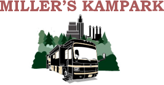 millers kampark logo kansas city rv park-